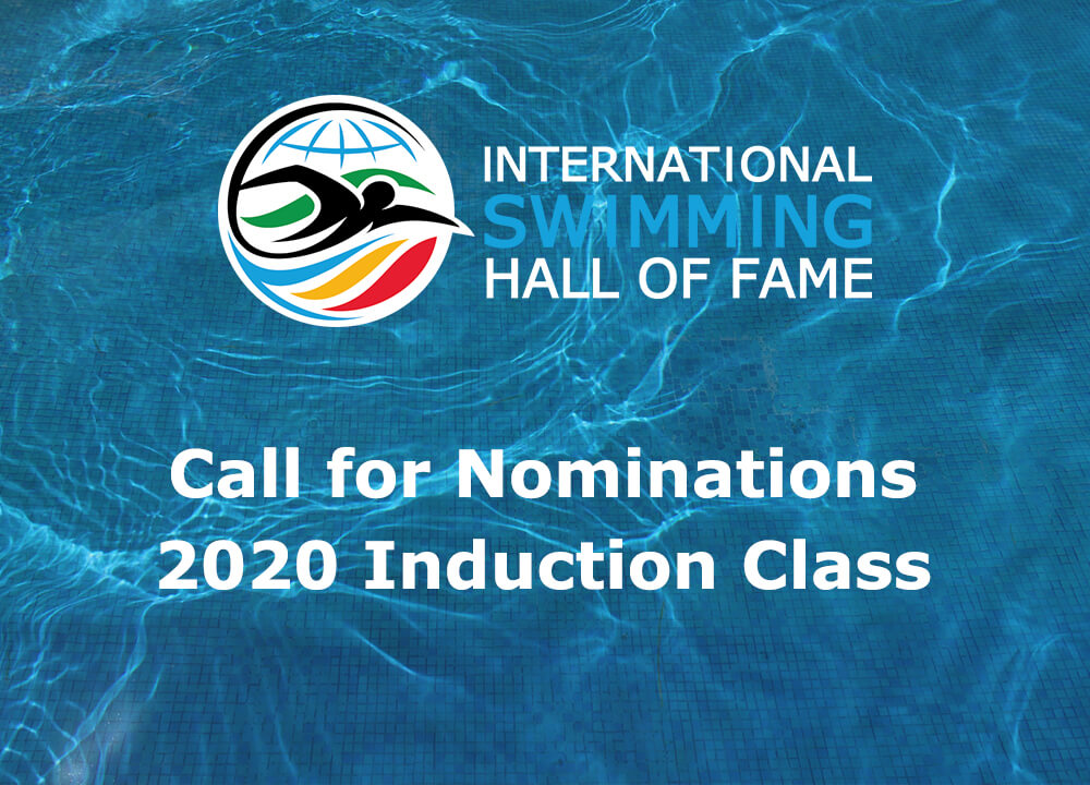 2020 Induction Class call for nominations ISHOF