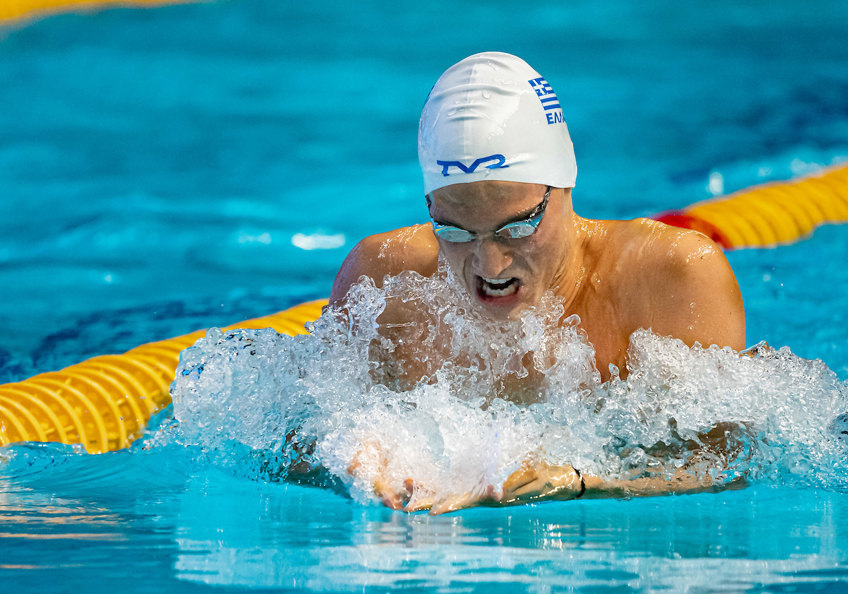 Apostolos Papastamos Smashes World Junior Record in 400 IM With 4:11 in Budapest