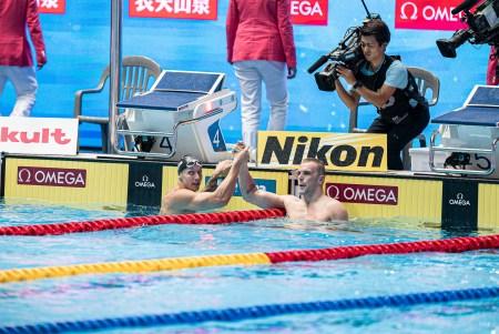 caeleb dressel, kyle chalmers, 2019 fina world championships