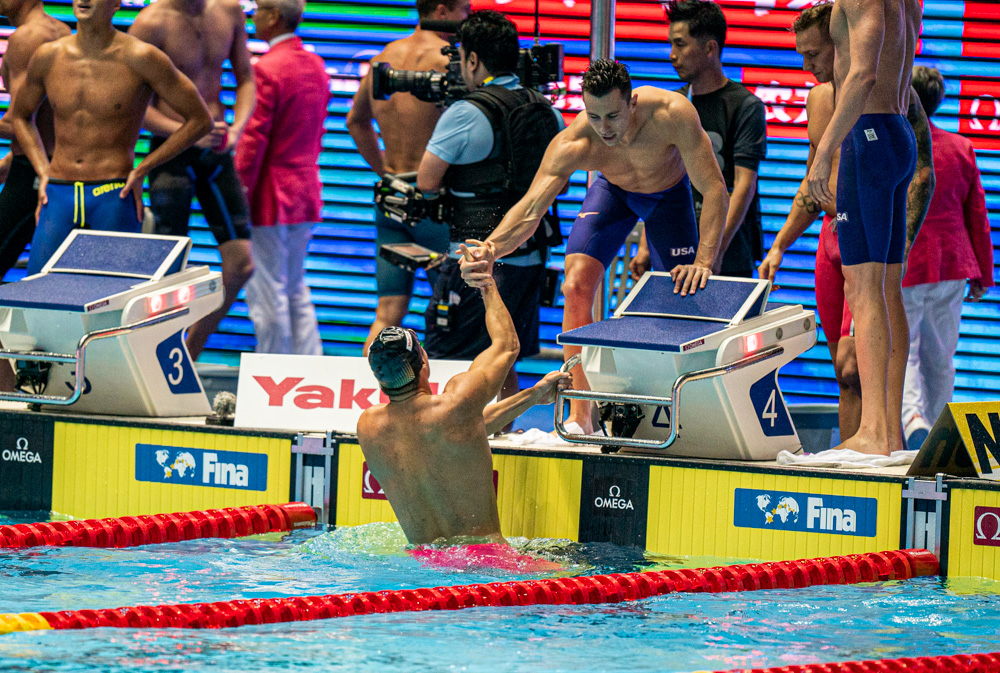 Swimming at the 2019 World Aquatics Championships – Men's 4 × 100 metre freestyle relay