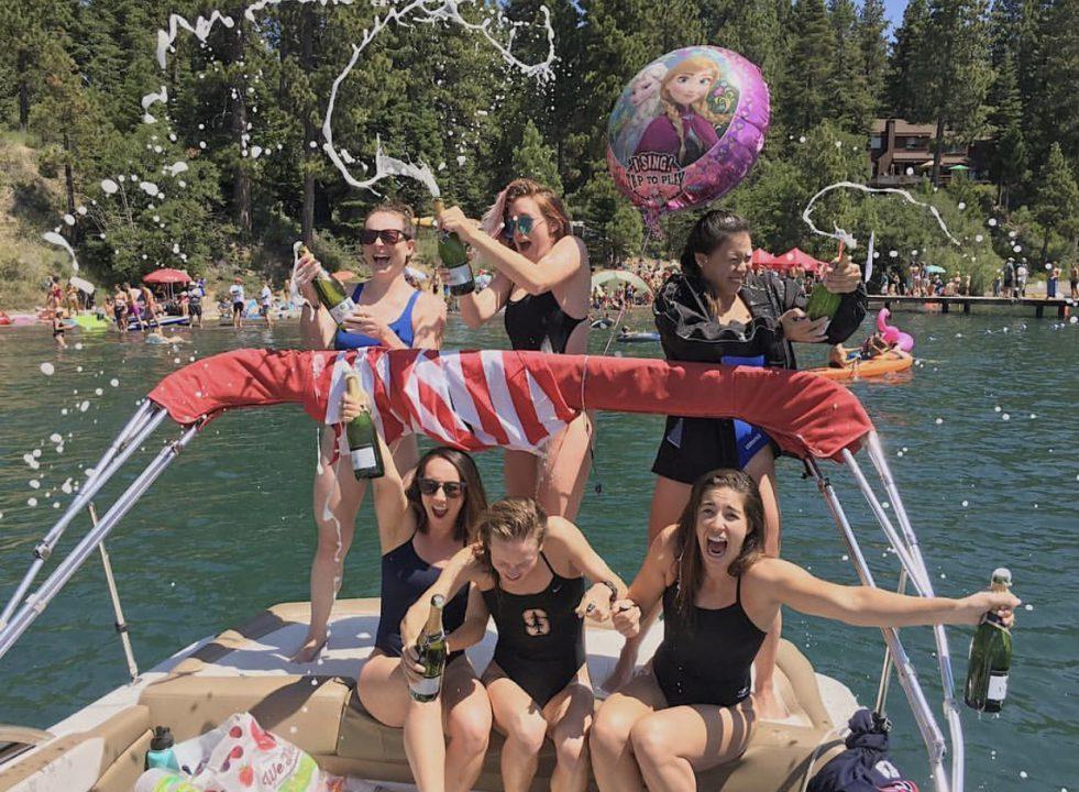 trans-tahoe-relay-open-water-boat-girls-sun