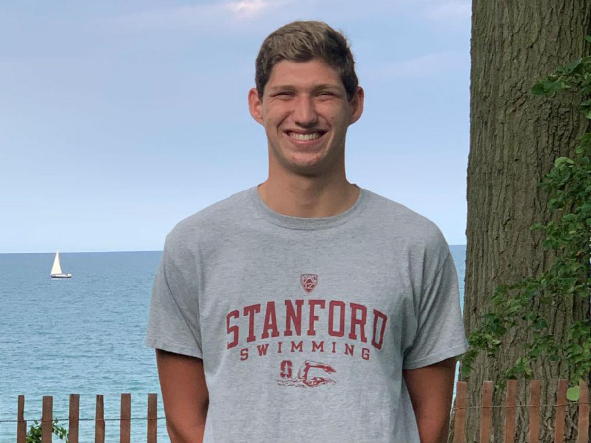 Junior National 100 Free Runner-Up Luke Maurer Pledges Verbal Commitment to Stanford