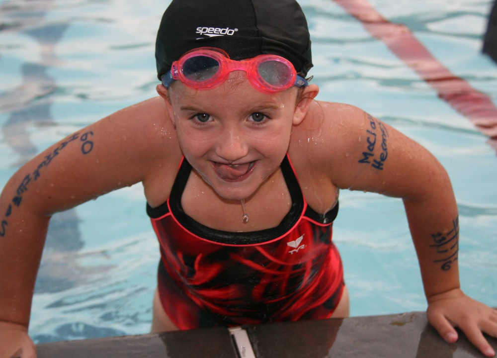 Swimming World September 2019 - Early Age Group Training - Getting Started 1