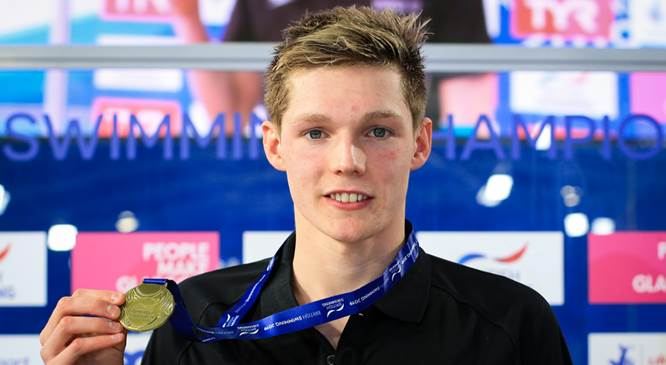Duncan Scott - Photo Courtesy: British Swimming