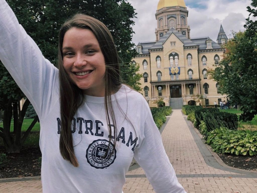 Mary Cate Pruitt Notre Dame