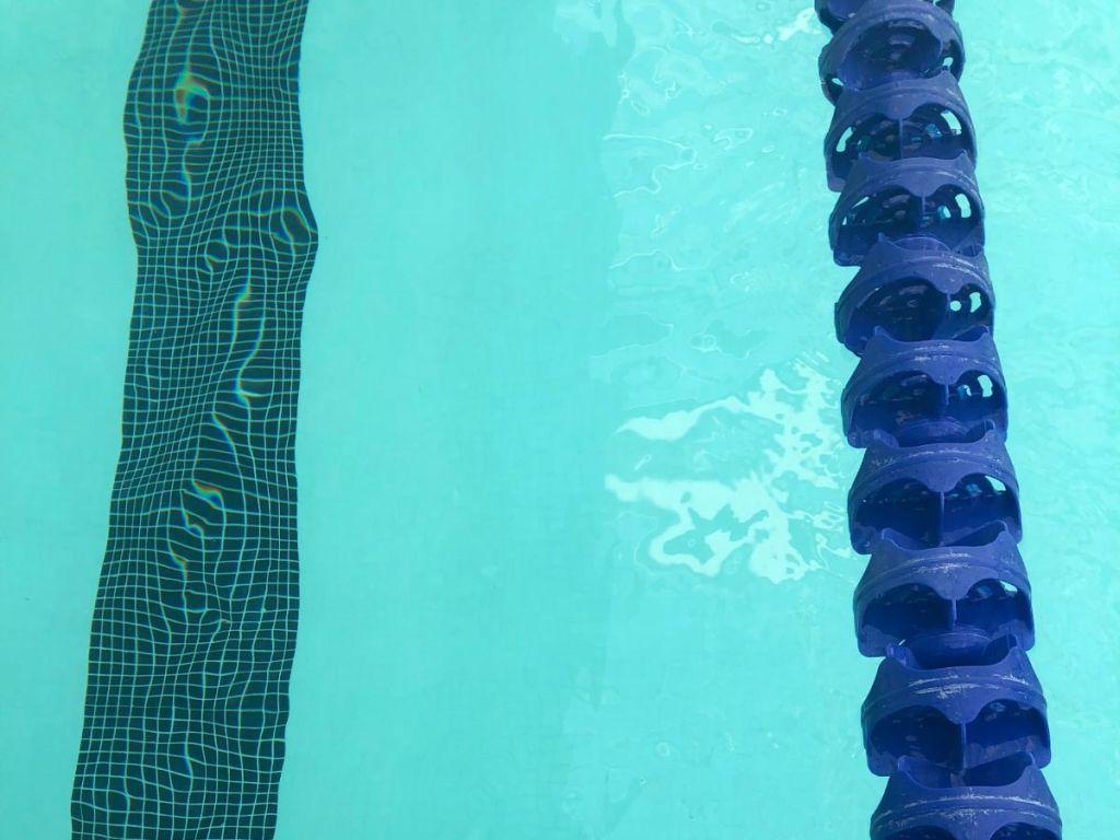 lane line rope pool swim t bottom-NJSIAA