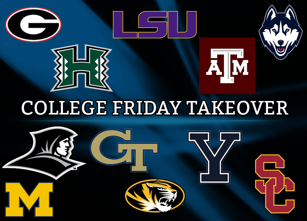 College Friday Takeover College Logos