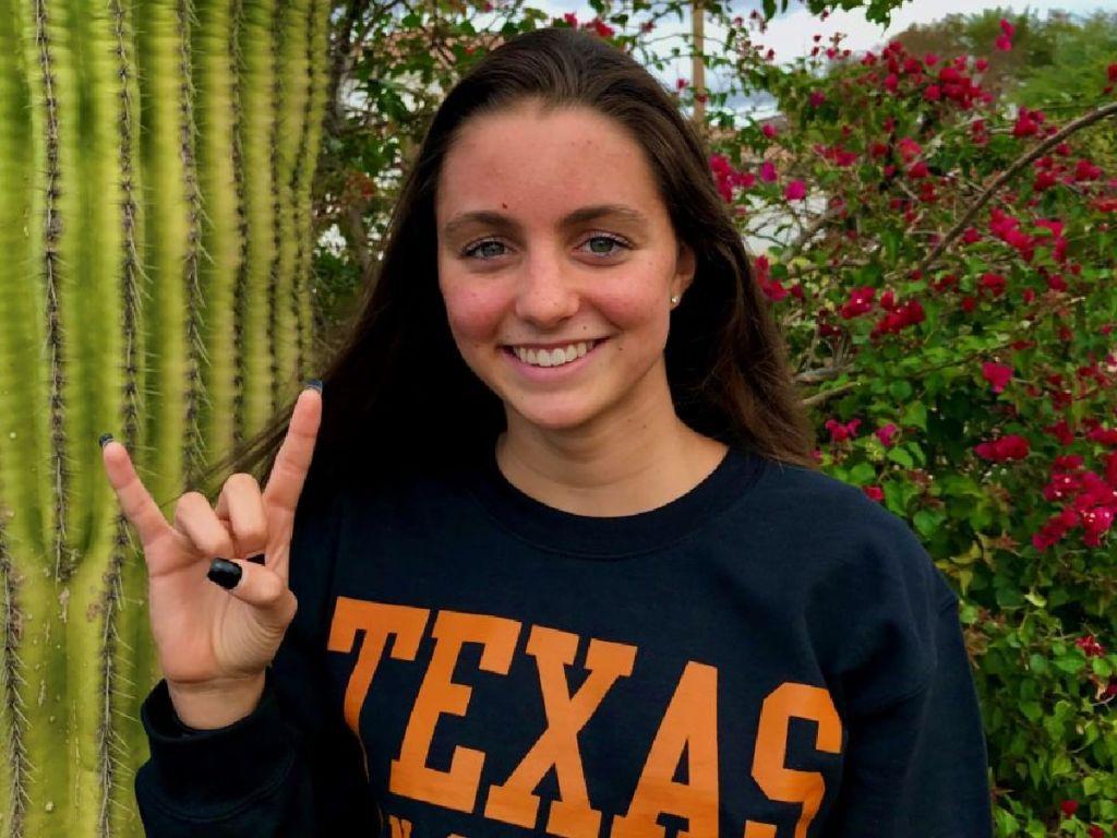 Morgan Brophy Texas commitment 2020