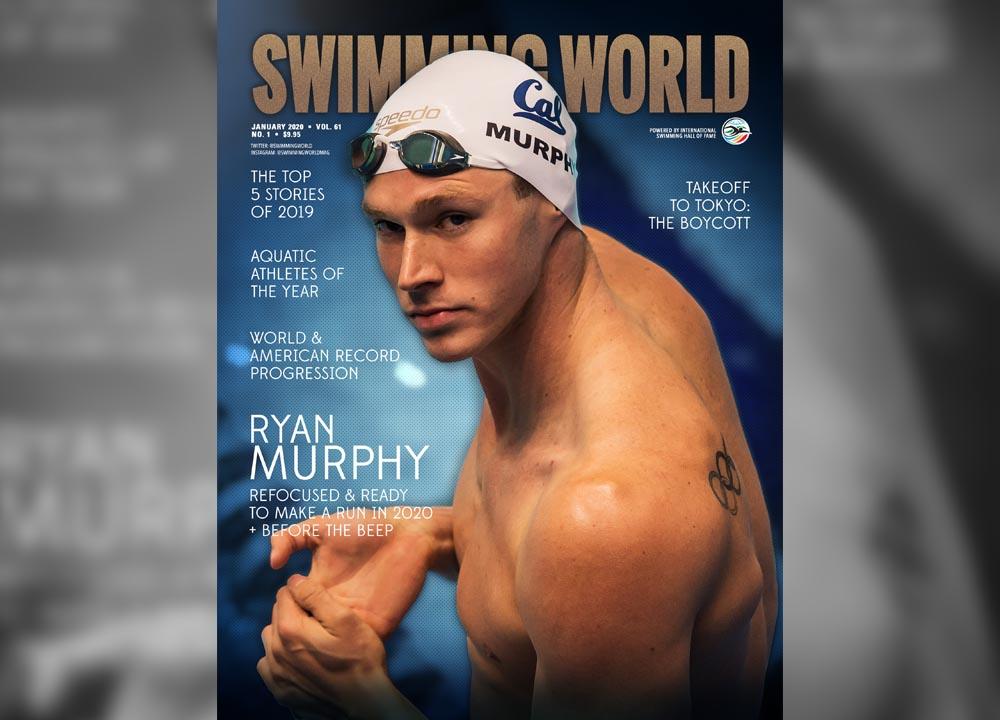 Swimming World January 2020 Issue Slider