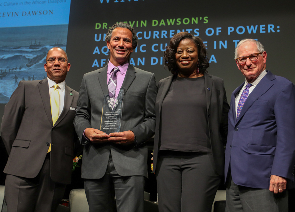 Swimming World January 2020 - Setting the Record Straight - ISHOF - Dawson with Harriet Tubman Award