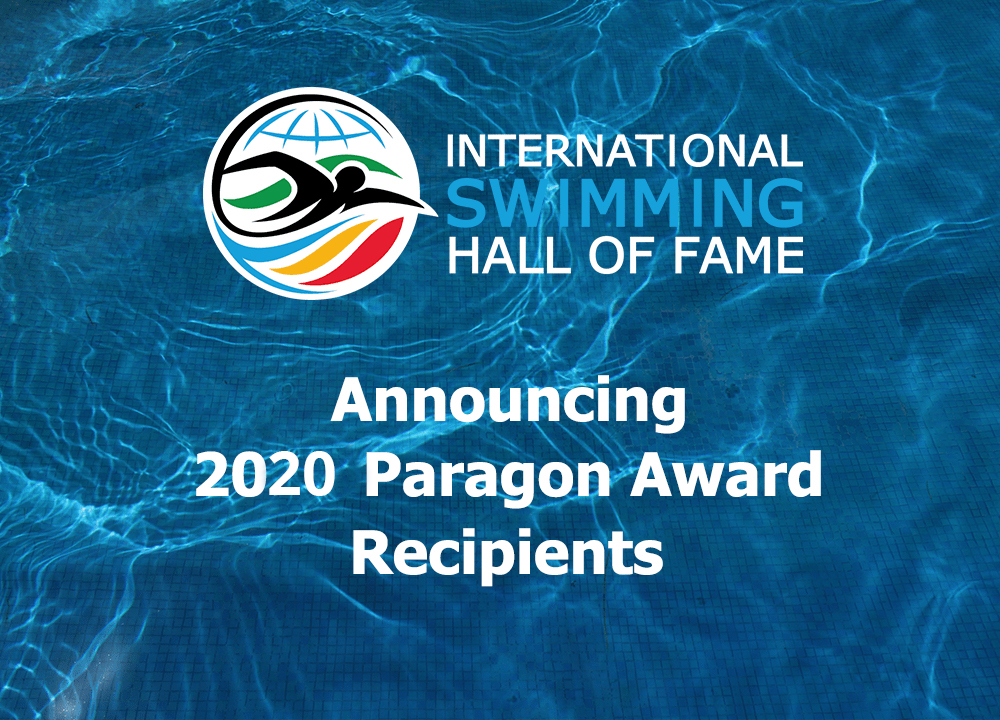 The International Swimming Hall of Fame 2020 Paragon Award Recipients, Presented by Pentair Aquatic Systems - Swimming World News