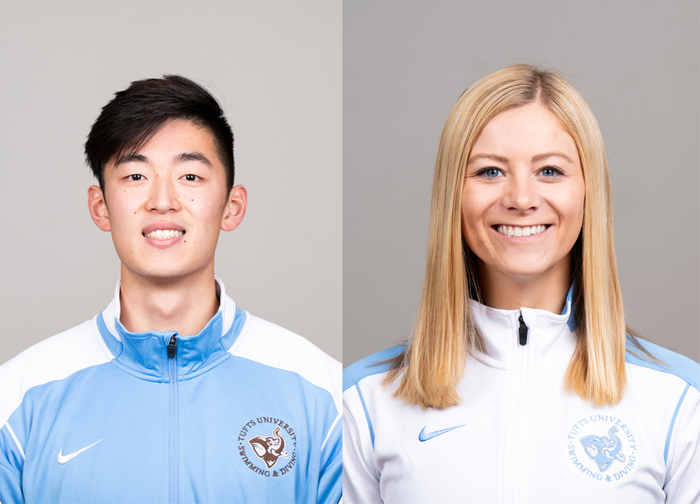 Swimming World February 2020 - How They Train with Roger Gu and Grace Goetcheus