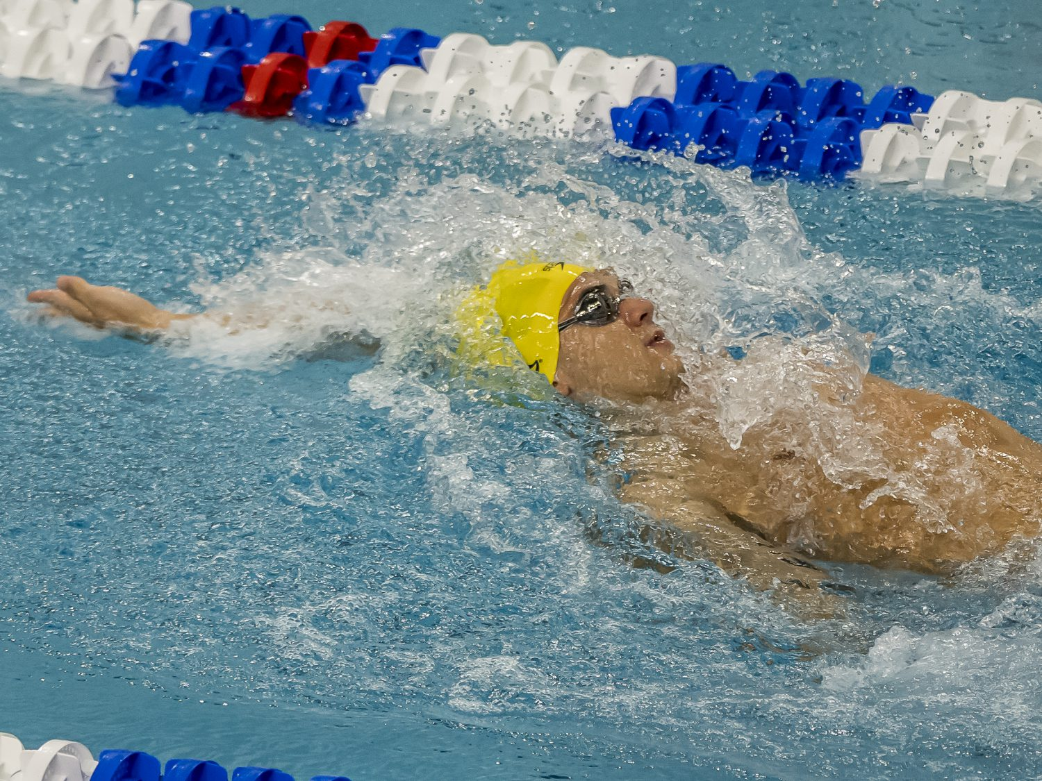 Cal's Reece Whitley Looks Sharp in 200 Breaststroke at Pac-12 Champs