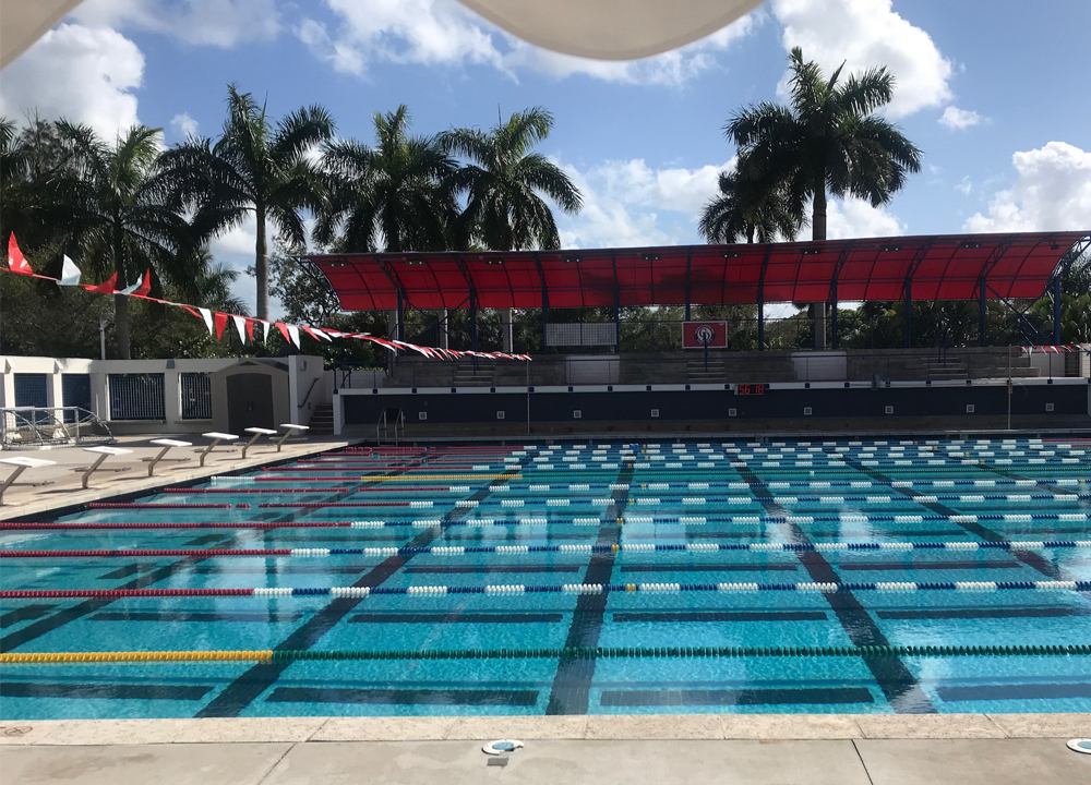 SW May 2020 - A Voice For The Sport - Diving In During Dire Times - John Lohn - Empty MCDS Pool