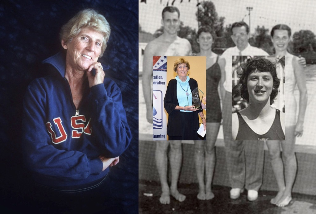 Penny Pence Taylor Turns 91 In Her 10th Decade Of Dedication To Swimming (1948 U.S. Olympic Trials Video) - Swimming World News