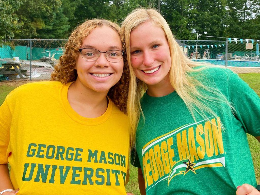 Kylie Thompson Korina Davis George Mason