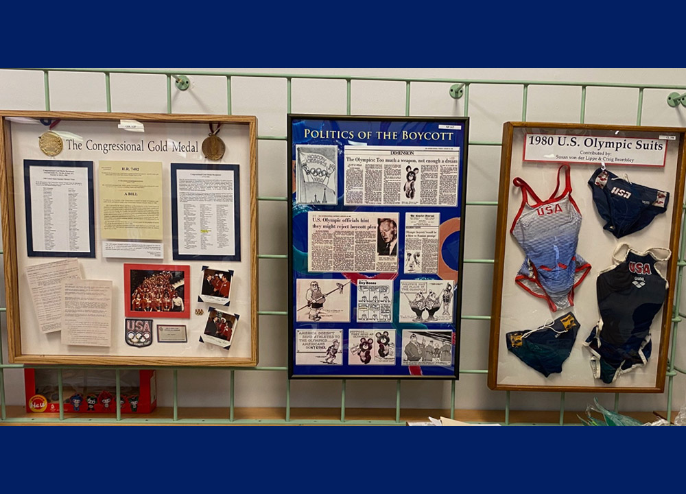 Swimming World November 2020 Highlights From The International Swimming Hall of Fame 1980 Moscow Olympics Exhibit
