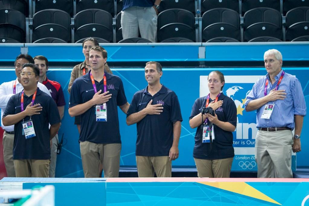 London Olympics -USA Water Polo vs Spain GOLD MEDAL