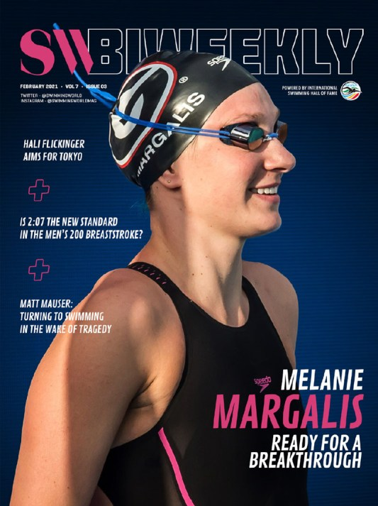 SW Biweekly 2-7-21 - Melanie Margalis - Ready For a Breakthrough - COVER