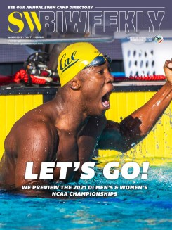 SW Biweekly 3-7-21 2021 Men's and Women's NCAA Division I Championship Previews COVER