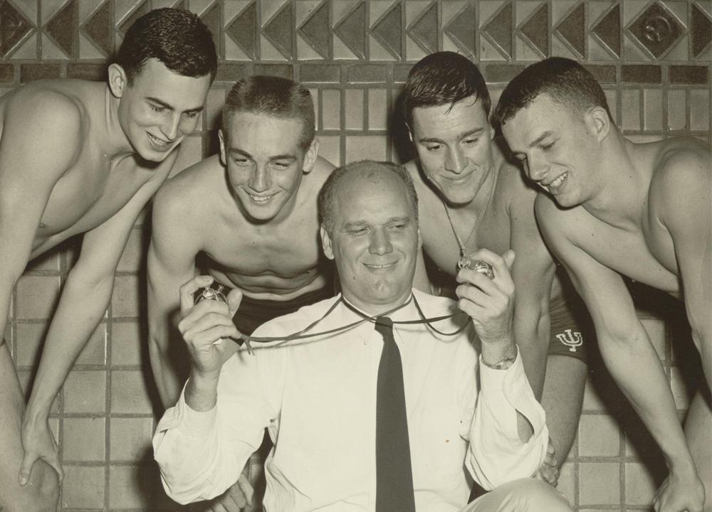 Swimming World March 2021 - Doc's Guys - Doc Counsilman - Indiana University