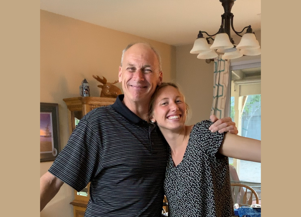 Swimming World April 2021 - Dads on Deck - Brent and Amy Bilquist