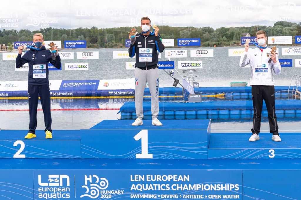 Gregorio podium 10k