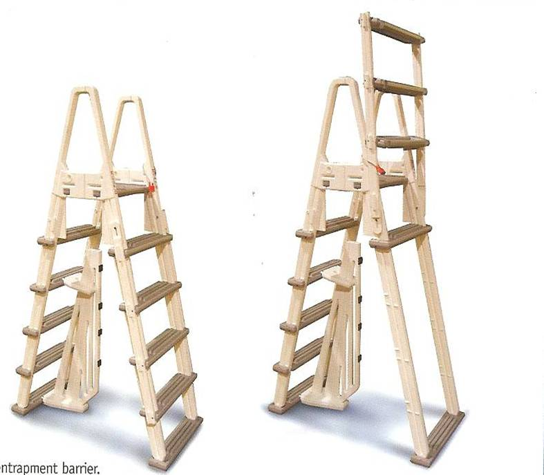 Eliminator A-Frame Safety Ladder
