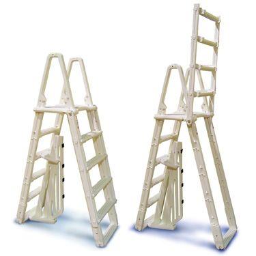 Evolution A-Frame Safety Aboveground Ladder