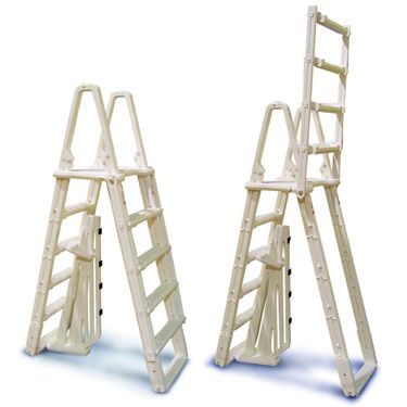 Evolution A-Frame Safety Aboveground Ladder