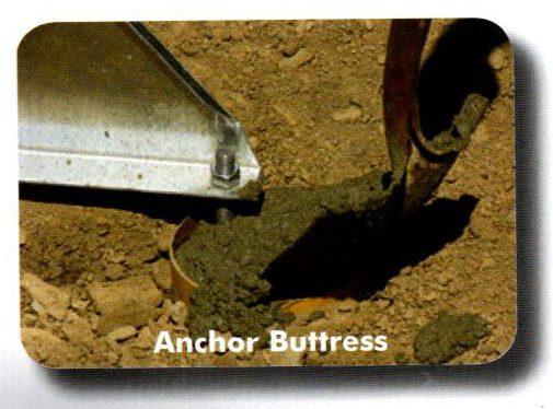 Anchor buttress