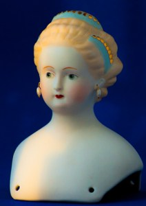 1987 reproduction doll from the Victorian era