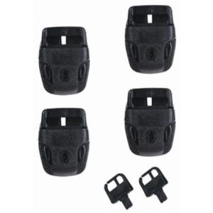 Essentials Replacement Set Of Spa Cover Locks And Key - Pinch Release Operation - Swindon Pool Hot Tub & Spa Chemicals And Accessories