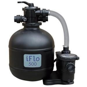 IFlo Filter Pump Package c/w Essential Plumbing Kit - Swindon Pool Hot Tub & Spa Chemicals And Accessories
