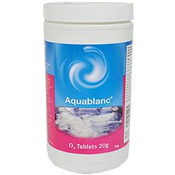 Aquablanc 1kg O2 Tablets - Swindon Pool Hot Tub & Spa Chemicals And Accessories
