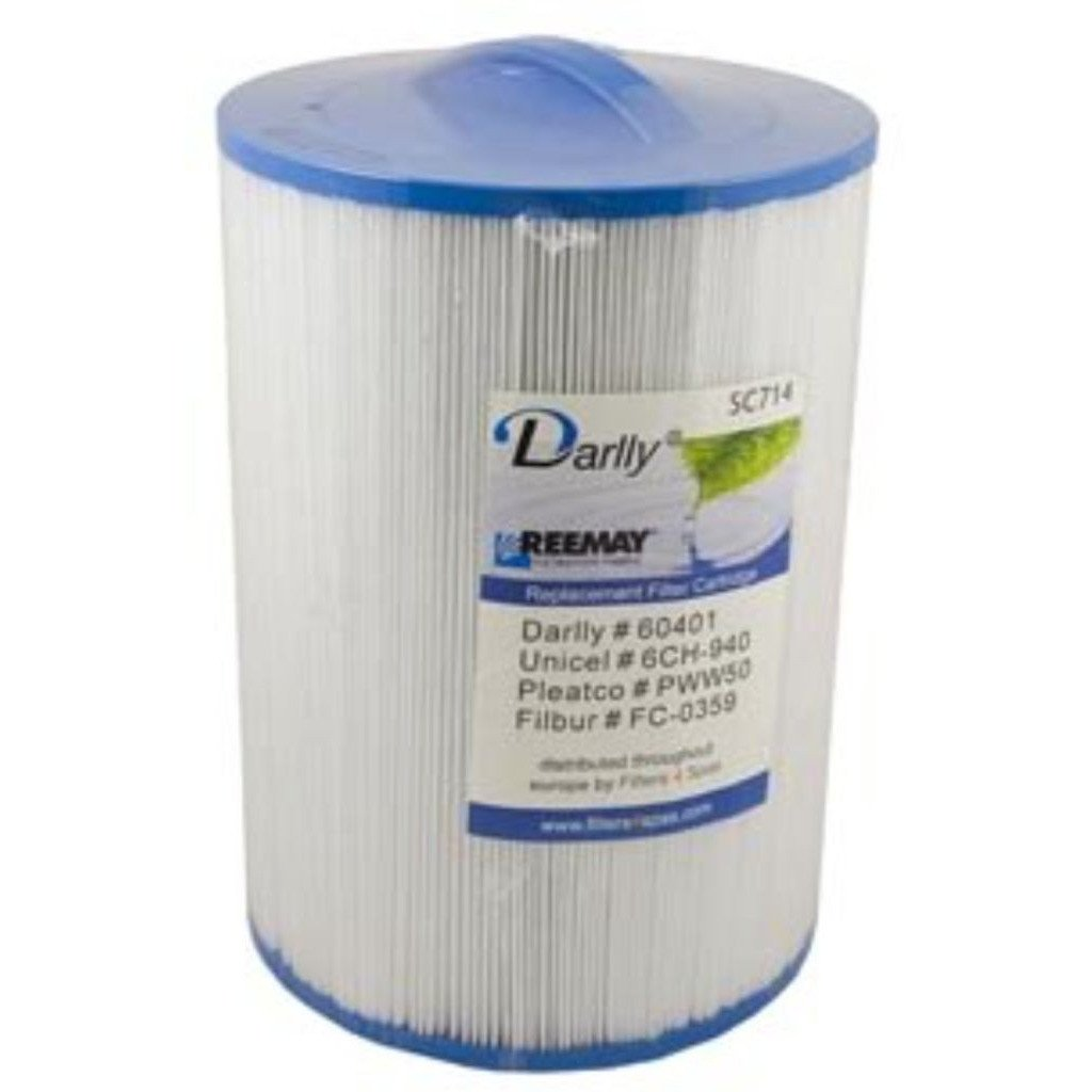 Darlly SC714 Hot Tub Filter PWW50 /6CH-940 / 6CH-940-RA /  FC-0359 / 8550 - Swindon Pool Hot Tub & Spa Chemicals And Accessories
