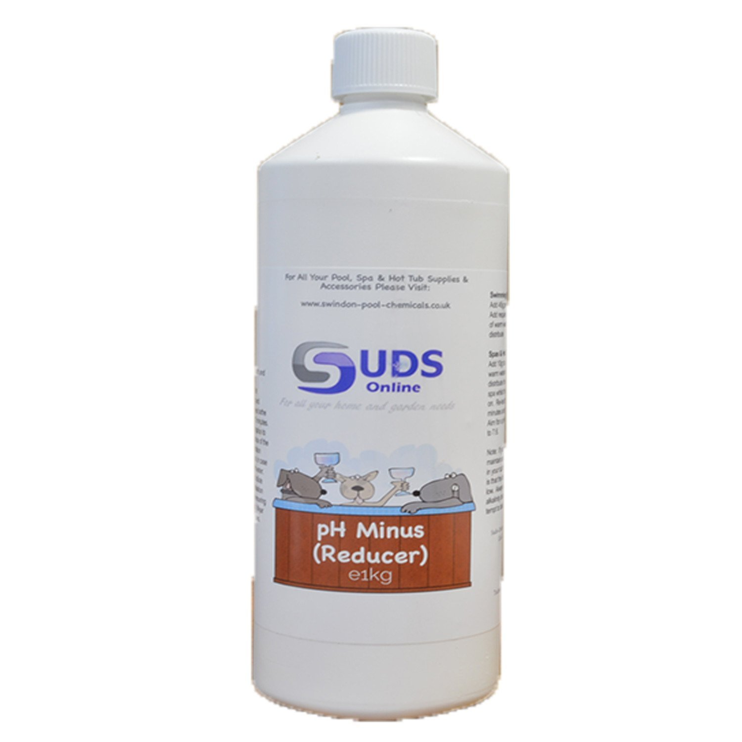 ph minus reducer for swimming pools spa 39 s and hot tubs swindon pool chemicals. Black Bedroom Furniture Sets. Home Design Ideas