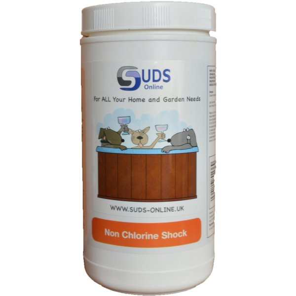 Non Chlorine Shock - 1kG - Swindon Pool Hot Tub & Spa Chemicals And Accessories