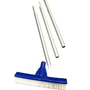 Swimming Pool Brush with 4ft Pole