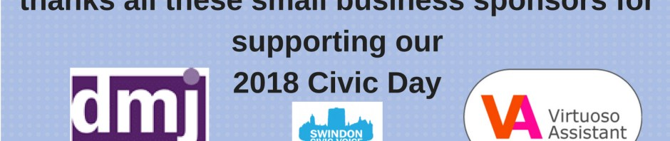 Business Support for Swindon Civic Day 2018