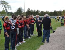 Swinford Underage introduced to Padraig Carney