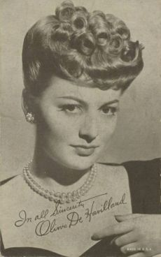 olivia-de-havilland-actress-movie-star-arcade-card