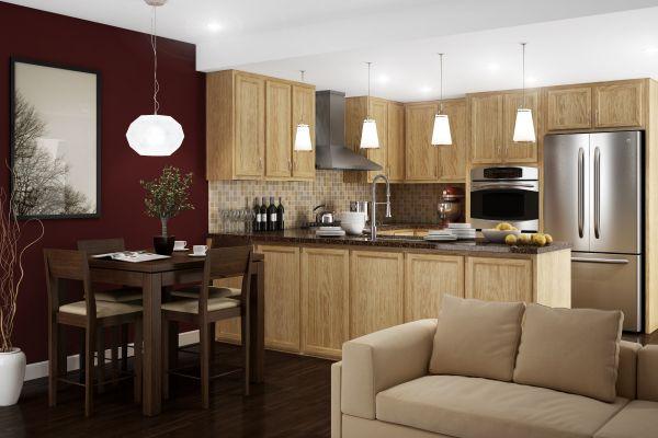 Kitchen Kompact Swingle Countertops