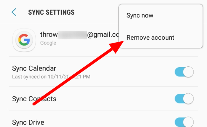 Remove how account to Remove accounts