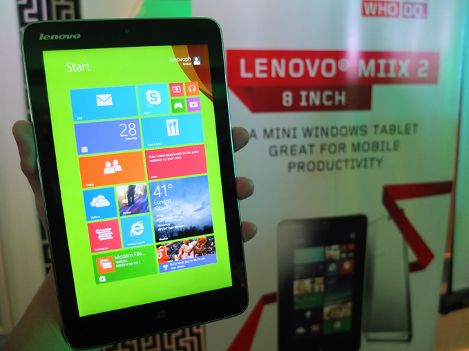 Lenovo Miix 2 8 launch, specs, price 01