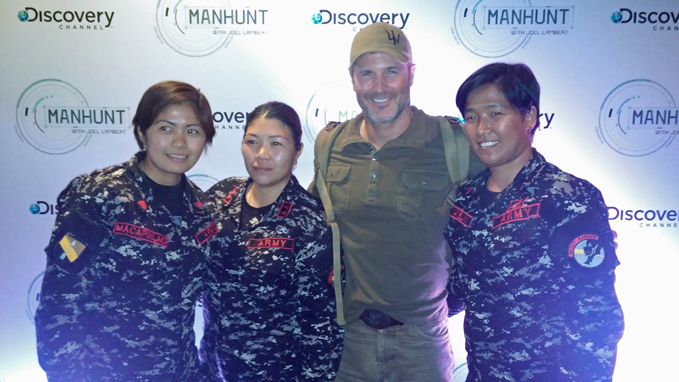 Joel Lambert Manhunt Discovery Channel