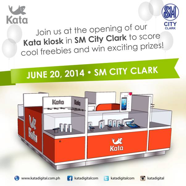Kata Kiosk SM City Pampanga