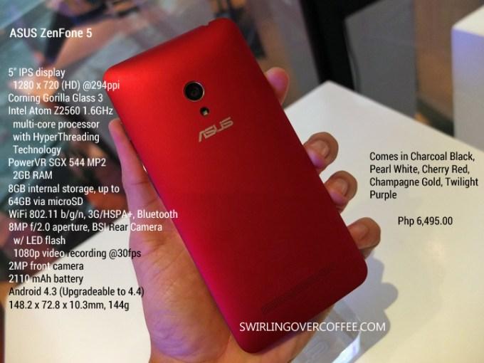 ASUS ZenFone 5 Specs