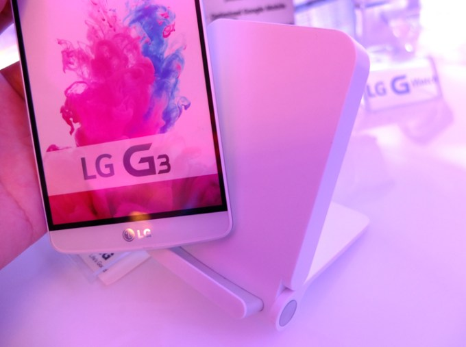 LG G3 Wireless Charging Stand
