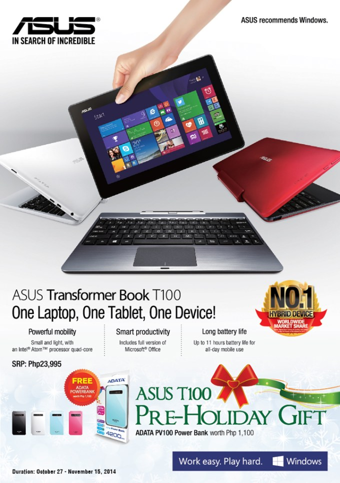 T100 and Powerbank Bundle_Flyer FA